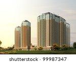 3d building | Shutterstock . vector #99987347
