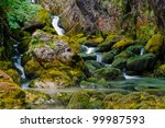 Waterfalls - stock photo