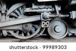 Steam Locomotive Wheels And...