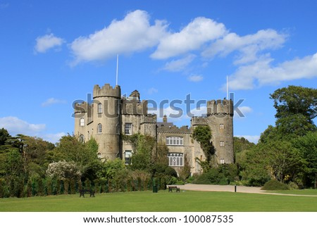 a view of malahide castle