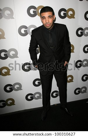drake at the gq 2010