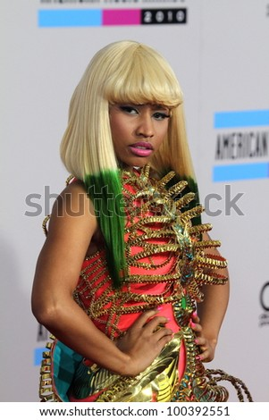 nicki minaj  at the 2010