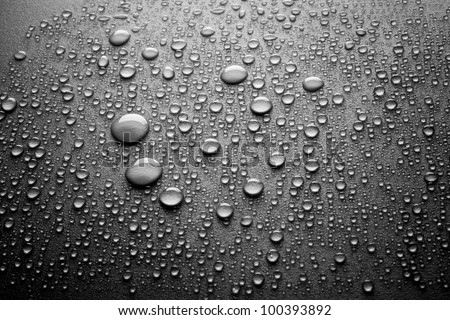 drops of water repellent