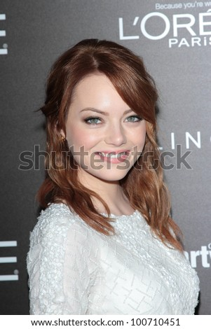 emma stone at the 5th annual