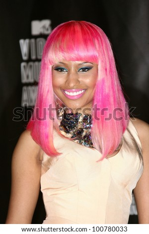 nicki minaj at the 2010 mtv