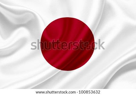 japan waving flag