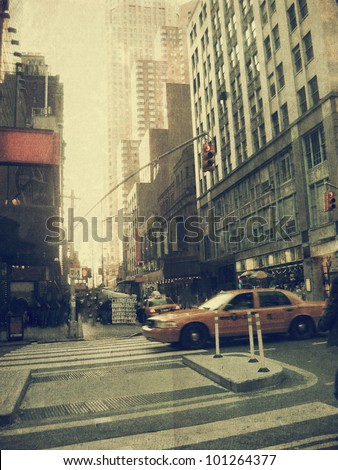 new york city street old