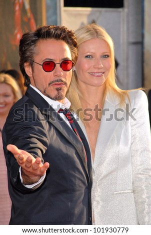 robert downey jr and gwyneth