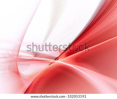 abstract red and white