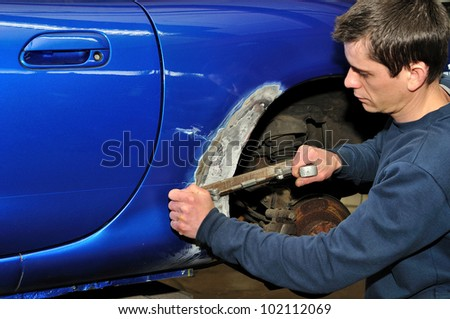 car body worker