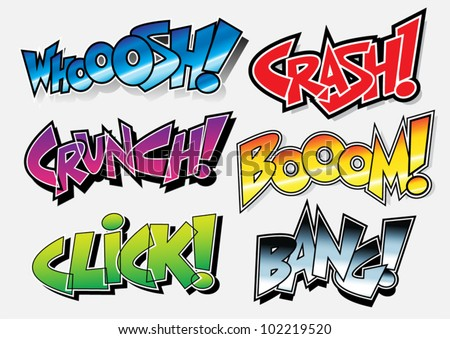 sound effects  comic book