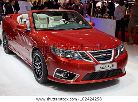 geneva   march 8  the saab 93