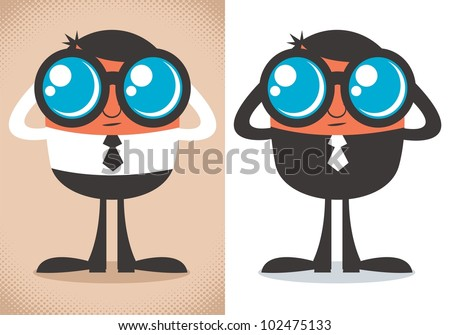 watcher  cartoon character