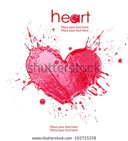 illustration of heart from