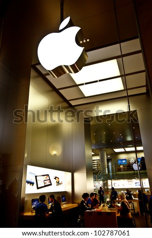 paris april 16  apple store at
