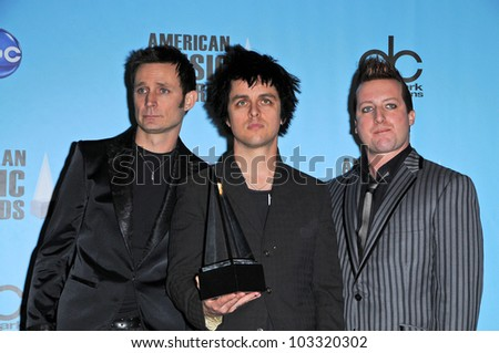green day at the 2009 american