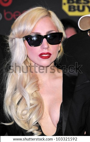 lady gaga at a signing for the