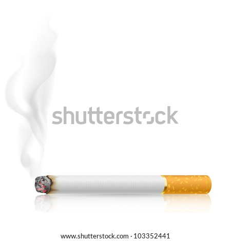cigarette burns illustration