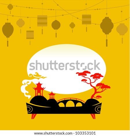 decorative chinese background