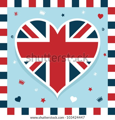 united kingdom decoration with