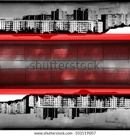 red band of the city