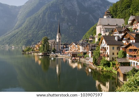 hallstatt  the most beautiful