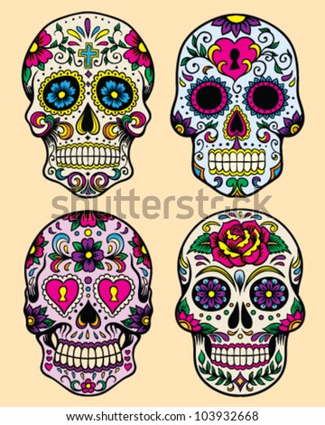 day of the dead vector