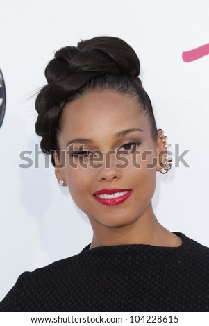 alicia keys at the 2012