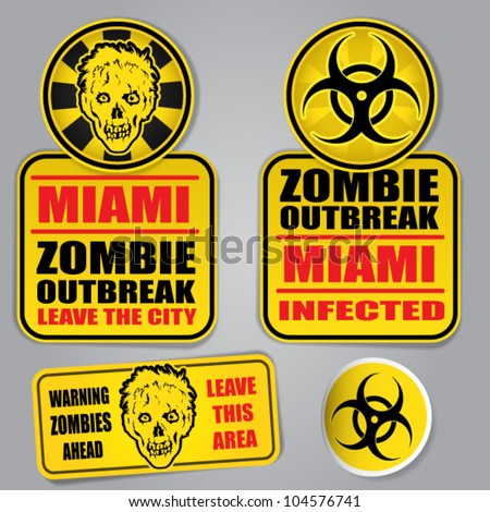 miami zombie outbreak warning