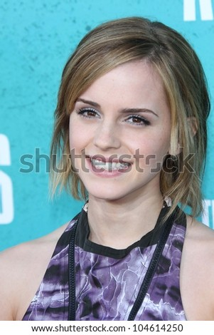emma watson at the 2012 mtv