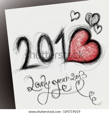 lovely year 2013   happy new