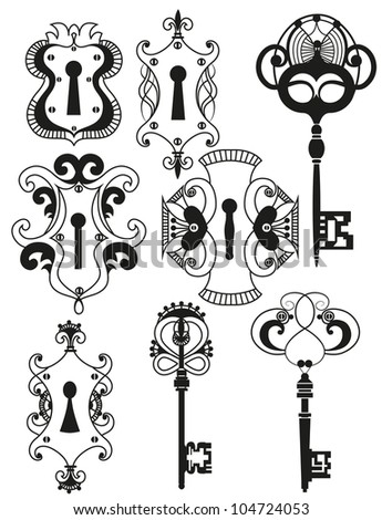Vector Images, Illustrations and Cliparts: Vector Set of ...