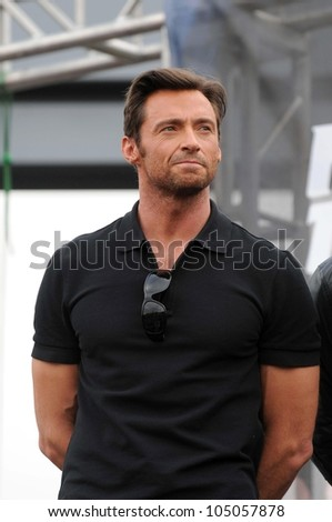 hugh jackman  at the united