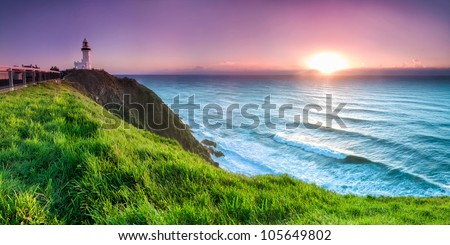 byron bay lighthouse during