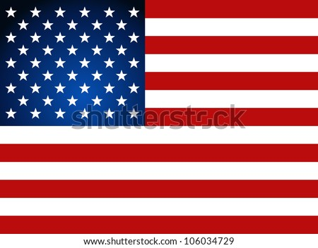 american flag for independence