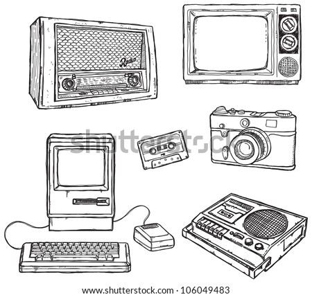 old media equipment