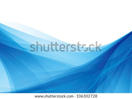 blue abstract soft vector