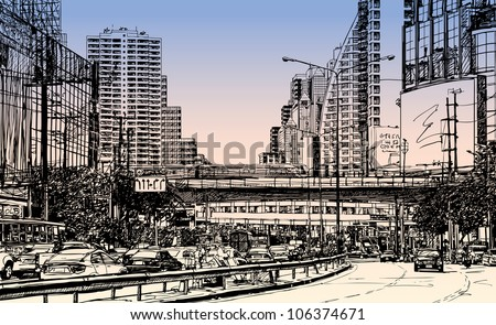 illustration of  asok area in