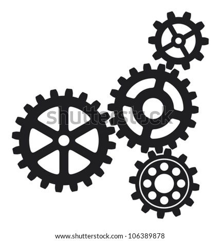 growing gears  gear icon