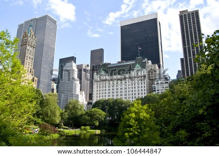 new york city buildings from
