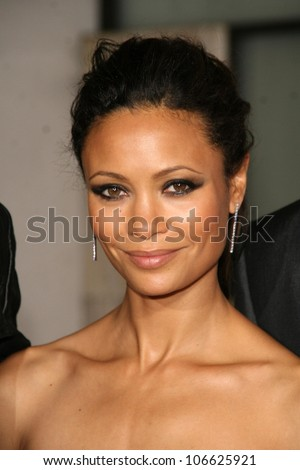 thandie newton   at the los
