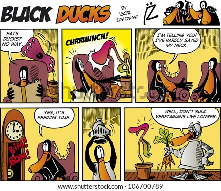 black ducks comic story episode
