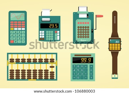 cute calculators  adding