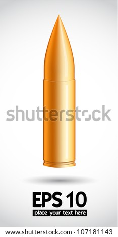 bullet vector background