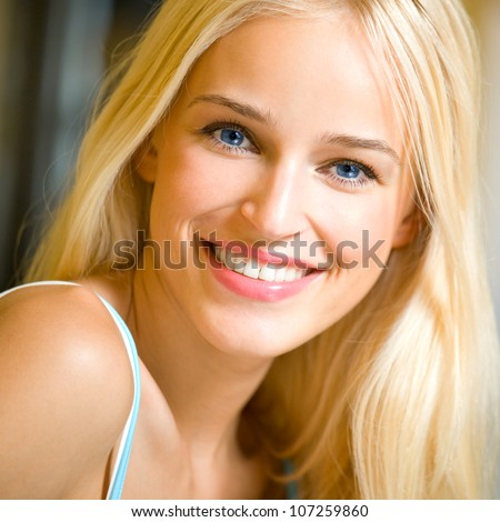portrait of happy cheerful