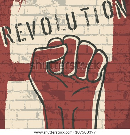 revolution  vector illustration