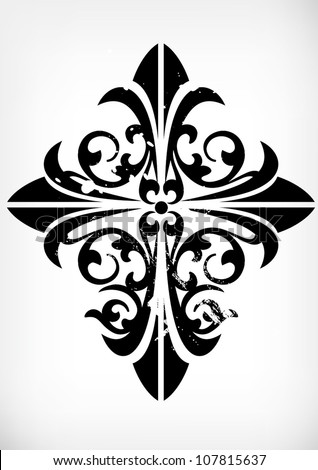 traditional pattern  cross