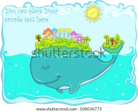 fairy tail fish  whale  with