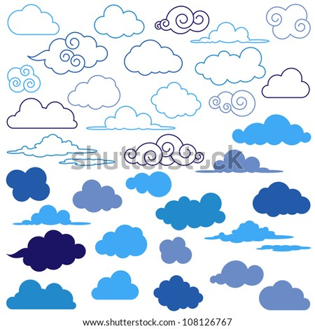 large vector collection of