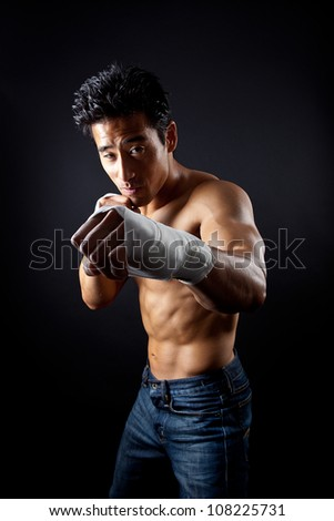boxer street fighter asian six